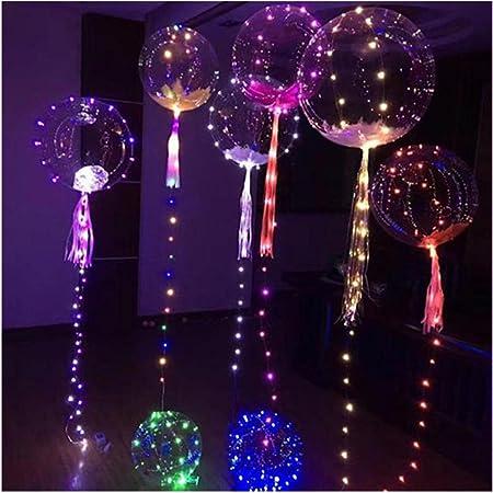 Globos LED Paellaesp 20 Pulgadas Luminoso Balón Navidad Boda ...