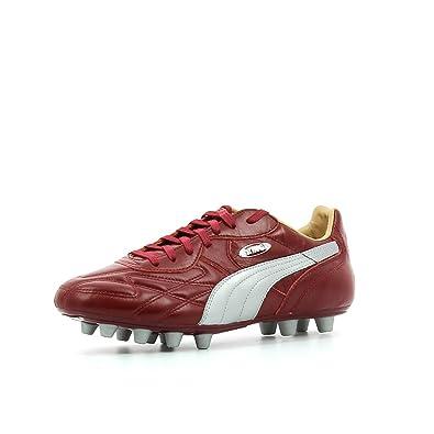 Puma King Top City DI FG Blanc - Livraison Gratuite avec - Chaussures Football Homme
