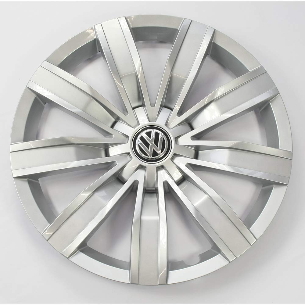 4 St/ück Radblenden 17 Zoll Radzierblenden Radzierkappen Stahlfelgen brillantsilber Volkswagen 5NA071457A Radkappen