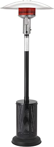 Sunglo 40000 Btu Propane Gas Patio Heater – Black