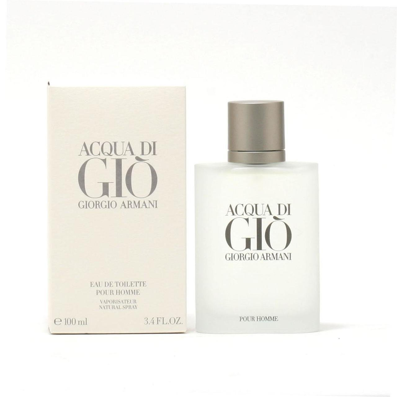 1a2b1ed222 Amazon.com : Acqua Di Gio By Giorgio Armani For Men. Eau De Toilette Spray  3.4 Ounces : Aqua Di Gio : Beauty