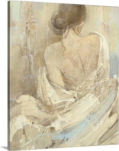 Abstract Figure Study I Canvas Wall Art Print