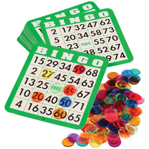 DollarItemDirect REFILL SET FOR LET'S PLAY BINGO, SOLD BY 5 SETS by DollarItemDirect