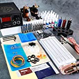 Tatooine Complete Tattoo Kit for Beginners Tattoo Power Supply Kit 20 Tattoo Inks Needles 2 Pro Tattoo Machine Kit