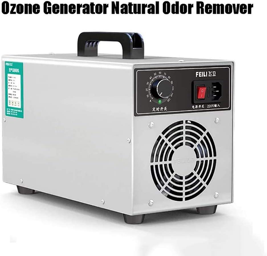 GHDE& Esterilizador Comercial de generador de ozono, con purificador de Interruptor de Tiempo, 50000mg Purificador de Aire para el hogar, hoteles, Bares y Granjas (50 g): Amazon.es: Deportes y aire libre