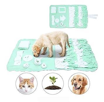 HLMF Alfombra para Mascotas Snuffle Alimenta El Juego Manta Lavable Colchonetas De Entrenamiento para Perros Alimentador para Perros Estera De Actividades ...