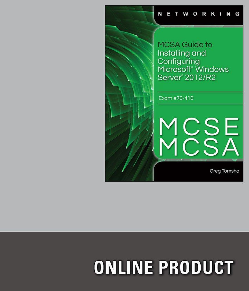 Amazon labconnection for mcsemcsa guide to microsoft windows amazon labconnection for mcsemcsa guide to microsoft windows server 2012 administration exam 70 411 1st edition courses xflitez Image collections
