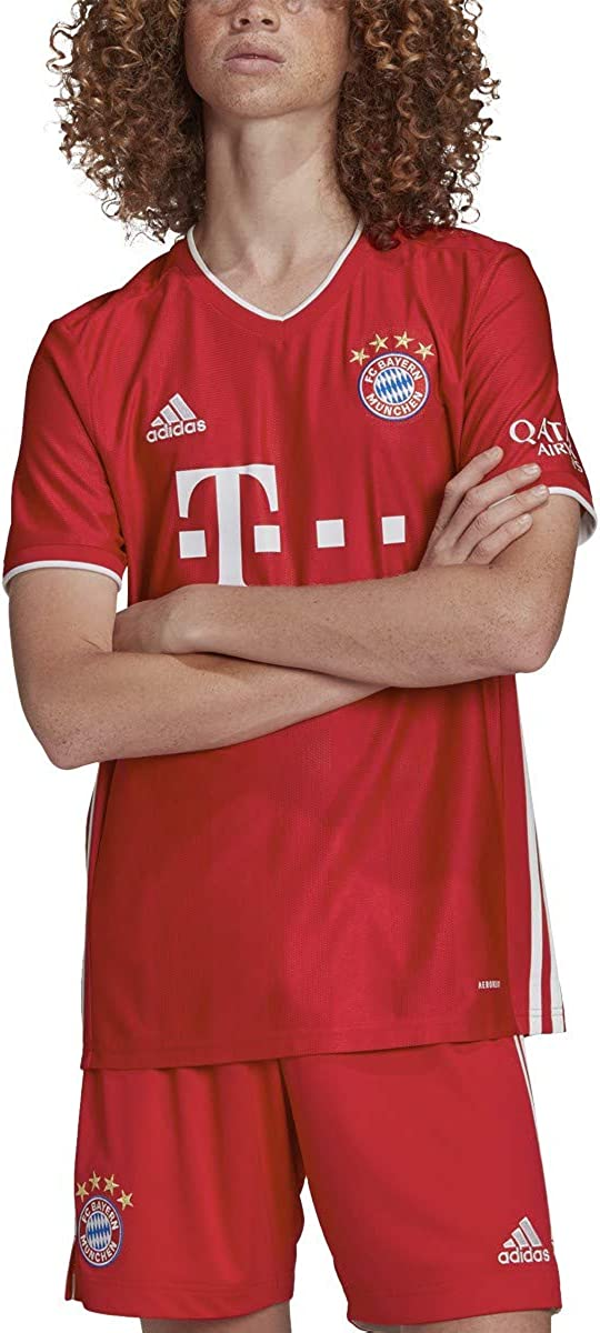 adidas Men's FC Bayern 2020-21 Home Jersey