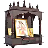 Homecrafts Led Light Home Temple/ Pooja Mandir/ Wooden Temple