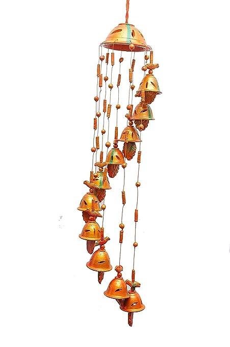 Om Craft Villa Terracotta Home Decorative Hanging Cum Outdoor Garden