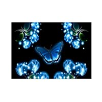 wonCacrostrans Diamond Painting, farfalla in resina 5D pittura diamante DIY Hand Craft Decor Cross Stitch Picture