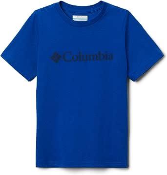 Columbia CSC Basic Youth Camiseta Estampada De Manga Corta Unisex niños