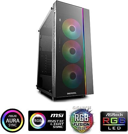 DEEPCOOL MATREXX 30 - Mini Torre (M-ATX/Mini-ITX) Negro: Amazon.es ...
