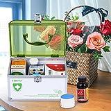 AZDENT Ollieroo Lockable Medication Box Organizer