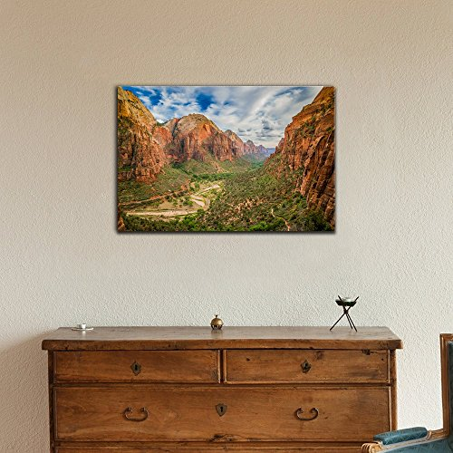 USA Landmarks Magical Landscape from Zion National Park Utah