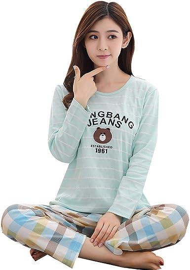 as-long-Womens Casual Fashion Print Short Sleeve Sweatshirt Home Piece Pajamas
