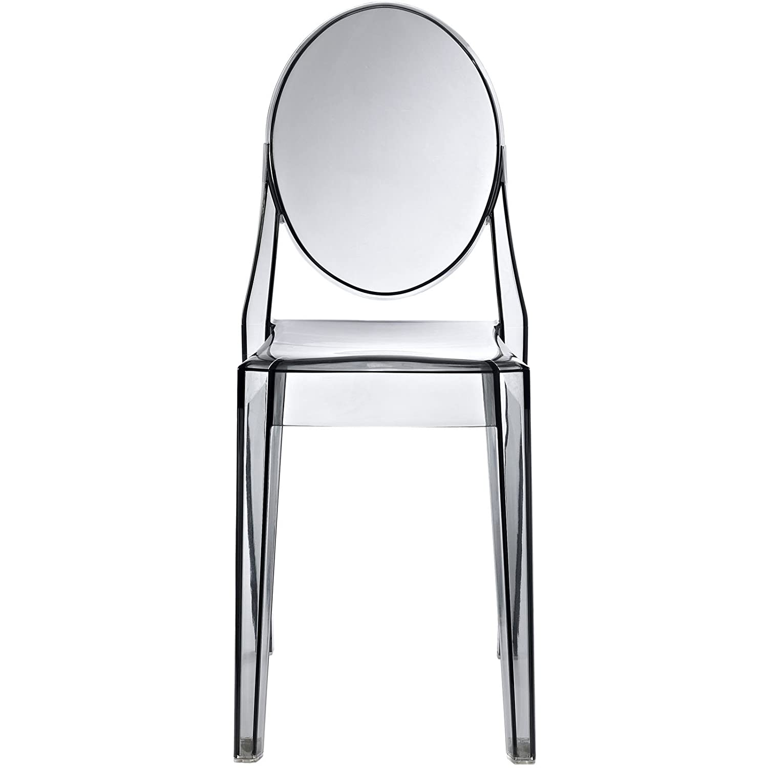 Amazon Modway Casper Modern Acrylic Dining Side Chair in