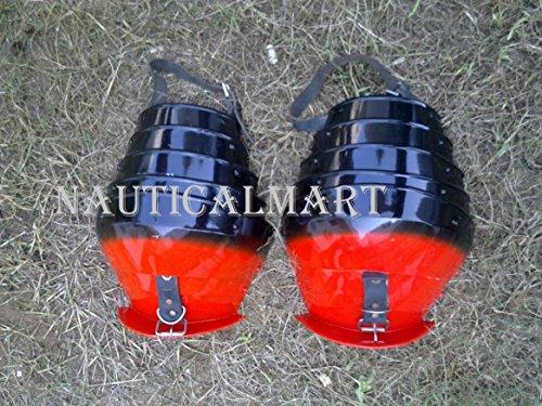 NAUTICALMART Medieval Steel Pauldrons Shoulder Armour by NAUTICALMART