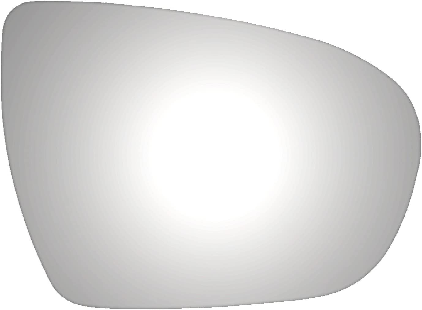 Burco 5462 Convex Passenger Side Replacement Mirror Glass 2011, 2012, 2013 for 11-13 Kia Optima Assembly Not Included