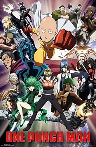 One Punch Man A2 size Full Colour Poster Brand New