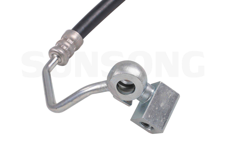 Sunsong 3401235 Power Steering Pressure Hose Assembly Lexus, Toyota