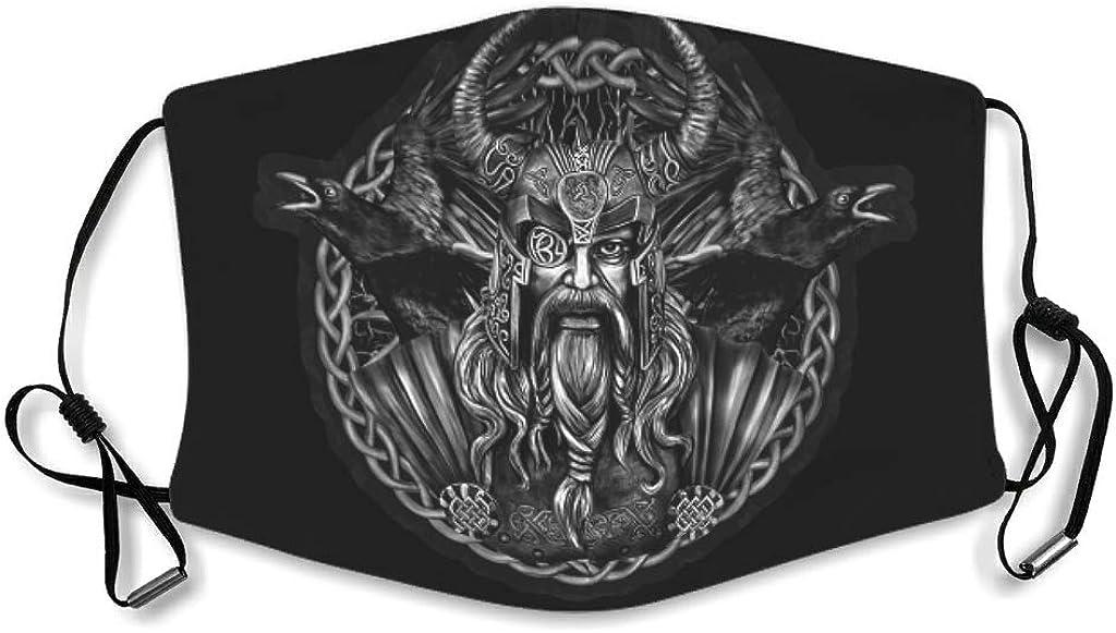 LAOAYI Vikingo Odin Deportivo Impresión 3D Ajustable para Viajes Camping Senderismo Unisex