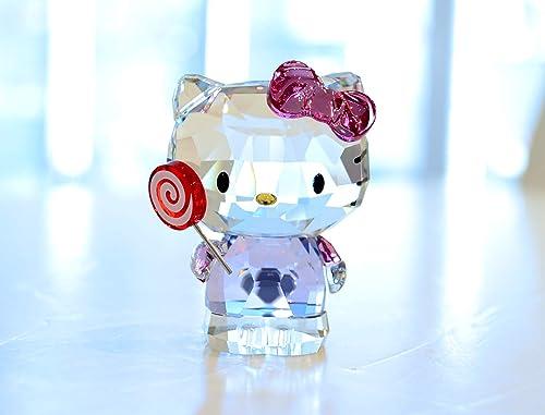 Swarovski Crystal Hello Kitty Lollipop Figurine 5269295