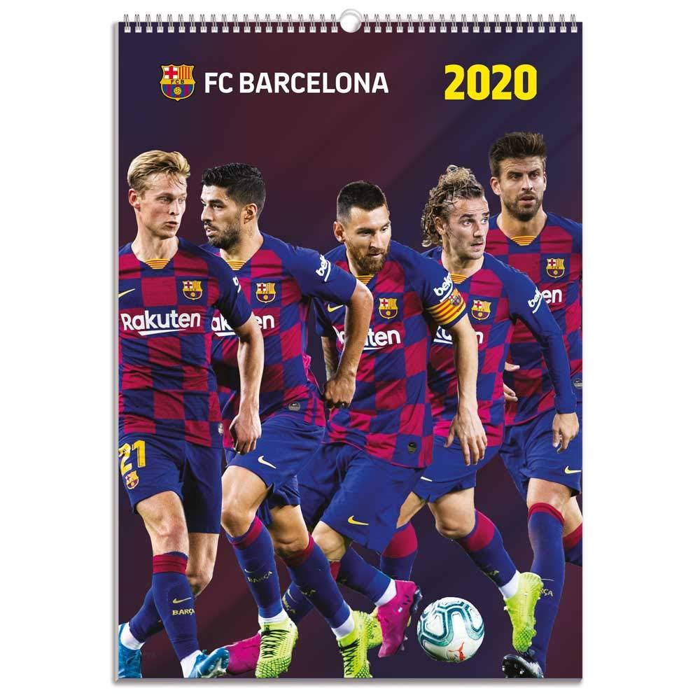 Calendario A3 2020 FC Barcelona Grupo ERIK