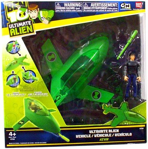 Ben 10 Vehicles - Ben 10 Ultimate Alien Vehicle Including Kevin 4