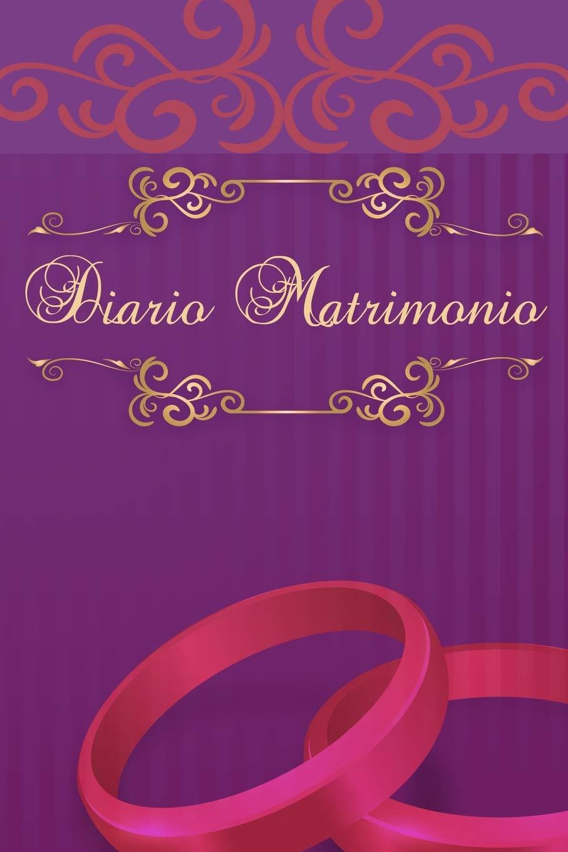 25 Anniversario Di Matrimonio Libretto.Diario Matrimonio Italiano Anni 25 40 50 Taccuino Journal