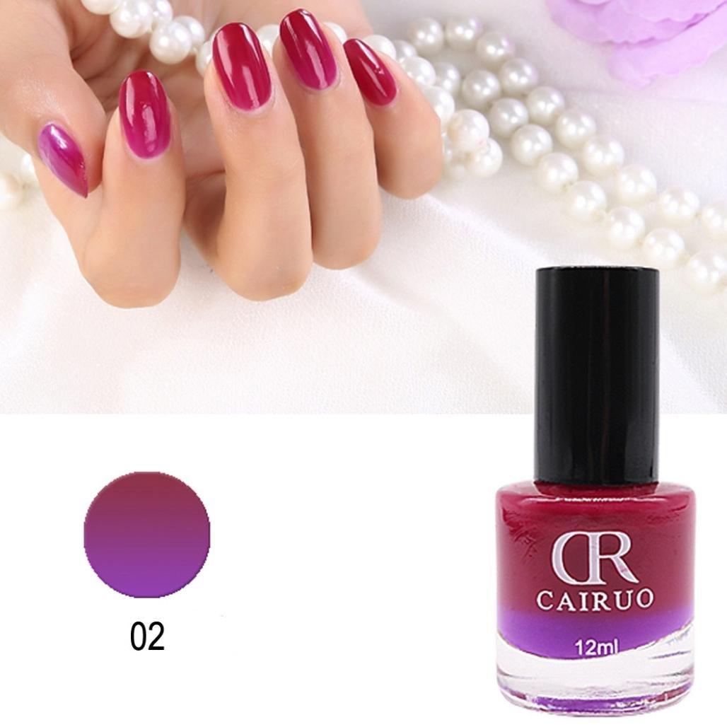 Amazon.com: LtrottedJ 12ml Temperature Change Nail Polish ,Color Temperature Control Nail Oil 26 Color (U): Health & Personal Care