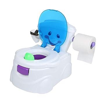 KingSaid Toilettentrainer Kinder WC Toilettensitz Baby Potty Lernt/öpfchen Toilette Music und Soundeffekten Toilettentrainer f/ür Kleinkinder