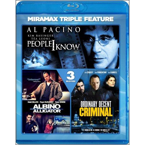 Ordinary Decent Criminal / People I Know / Albino Alligator[Blu-ray]