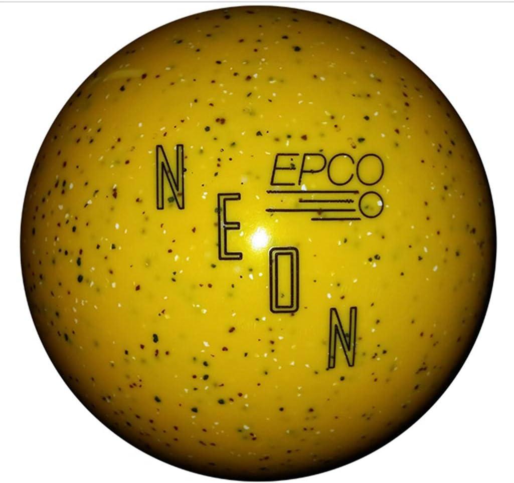 Duckpin EPCO ネオン斑点ボーリングボール 5インチ - イエロー  3lbs 10oz