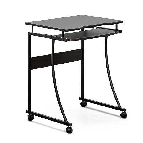 Amazon.com: Furinno FCG295EX Besi Metal Frame Computer Desk with ...