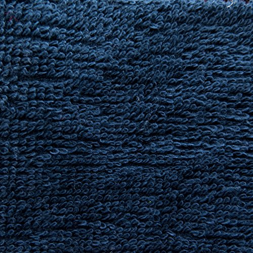 Cotton Terry Cloth 58 Inch Fabric by the Yard (F.E.®) (Navy)