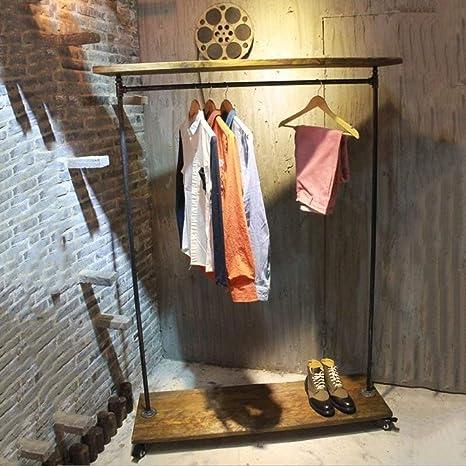 MDD Estante para ropa Estante Tipo de piso Perchero ...