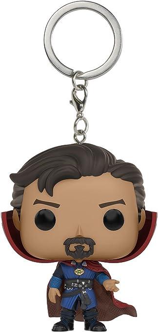 JPTACTICAL Avengers Heros Bobble Head Action Figures Keychain-Captain America, Ironman, Hulk, Doctor Strange, Thor (Doctor Strange)