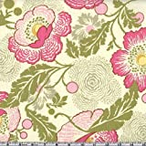 Amy Butler Midwest Modern Fresh Poppies Fuchsia Fabric By The Yard