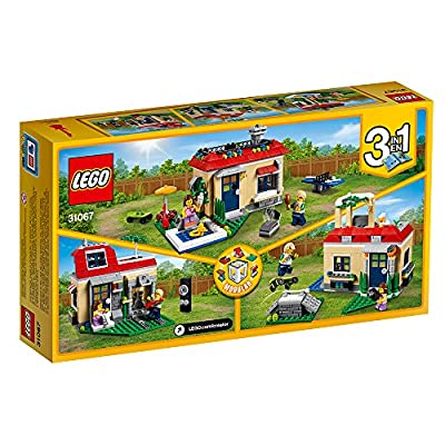 LEGO Creator Modular Poolside Holiday 31067 Building Kit (356 Piece): Toys & Games