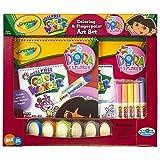 Dora the Explorer Color Wonder Fingerpaint Variety Pack - Crayola Finger Paint