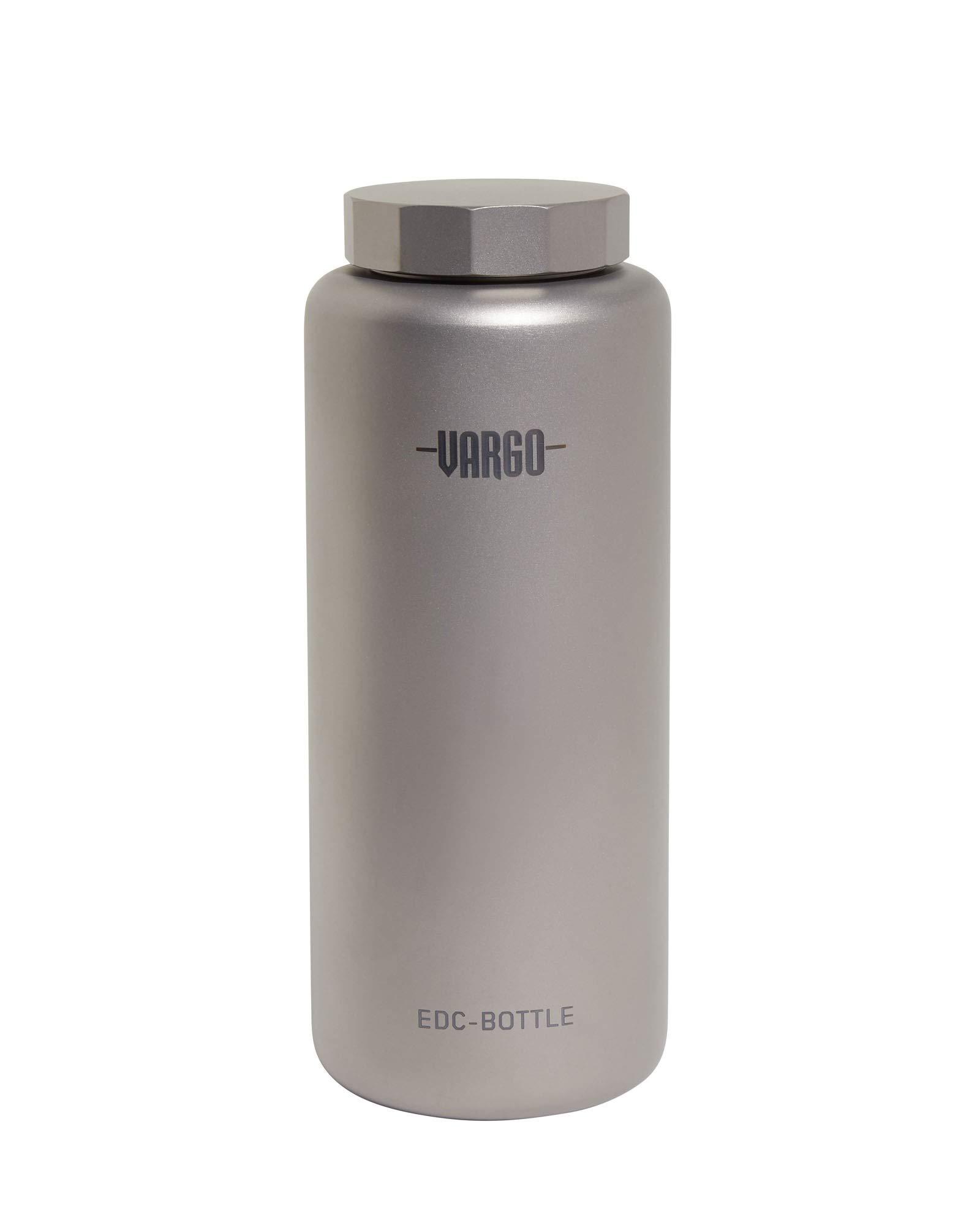 Vargo EDC Bottle, Titanium, 1 L