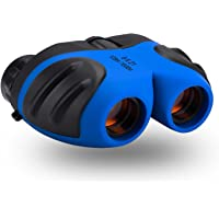 Binocular Kids, Best-Sun Compact Watreproof Binocular Teen Boy Birthday Presents Gifts Boys Toys 3-12 (Blue)