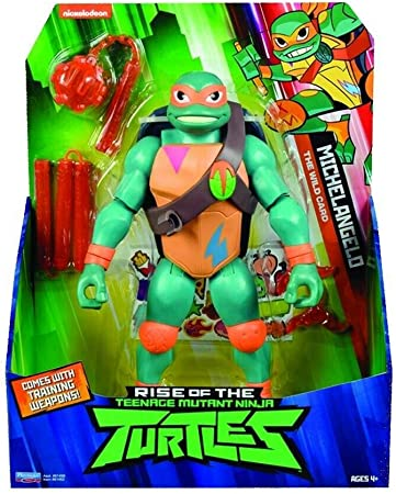 Totalmente nuevas tortugas gigantes basadas en la nueva serie de televisión 2018 Rise Of The Teenage