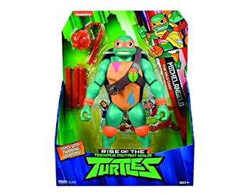 Teenage Mutant Ninja Turtles TUAB3310 Michelangelo - Figura de acción Gigante