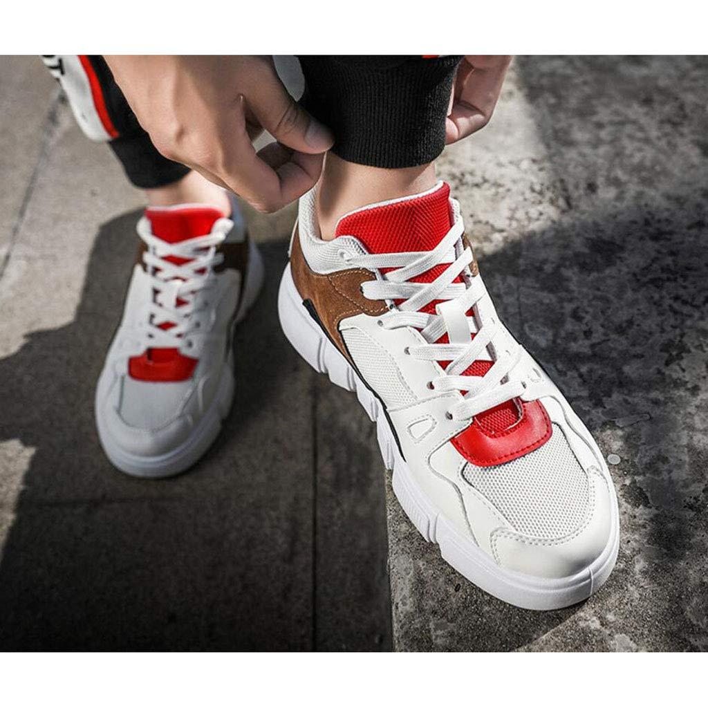 Zxcvb Herren Turnschuhe Rubber Exercise & Fitness Fitness Fitness Running Leicht, Atmungsaktiv Tüll Gelb Rot Schwarz 02d5c6