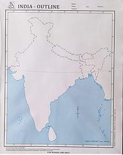 Buy Outline Map of World Political Set of 5 Book Online at ...