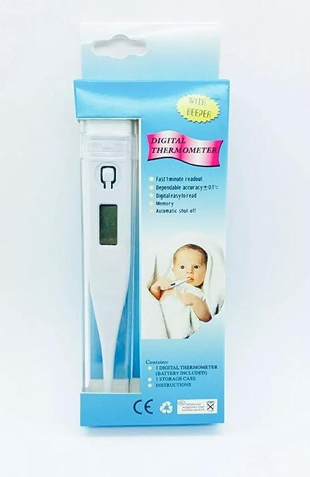 Termómetro Corporal Fiebre Clínico Digital Infantil Bebés Niños y Adultos