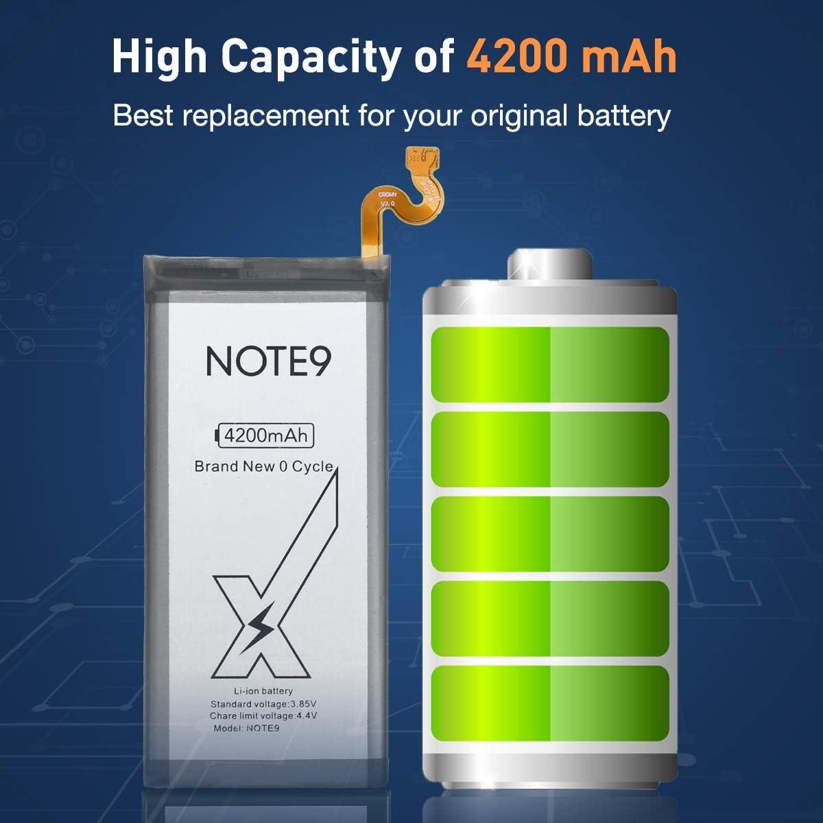 N9000 DEJIMAX Batterie pour Samsung Galaxy Note 3,3400mAh Note 3 Batterie High Capital avec NFC pour NOTE3 N9005 N9002 N900 N900A