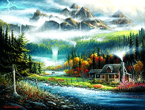 Valley Paradise 500 Piece Jigsaw Puzzle by SunsOut